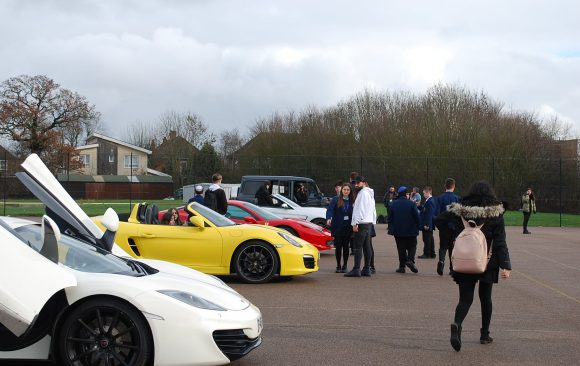 BTEC Business Super Cars Event