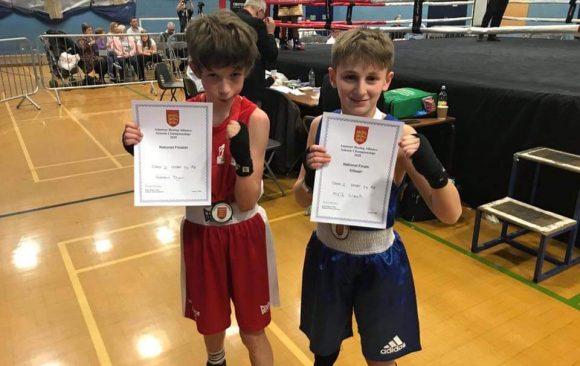 English Schools Boxing Champion 2020