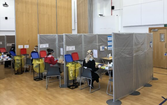 JFS Covid Testing Centre
