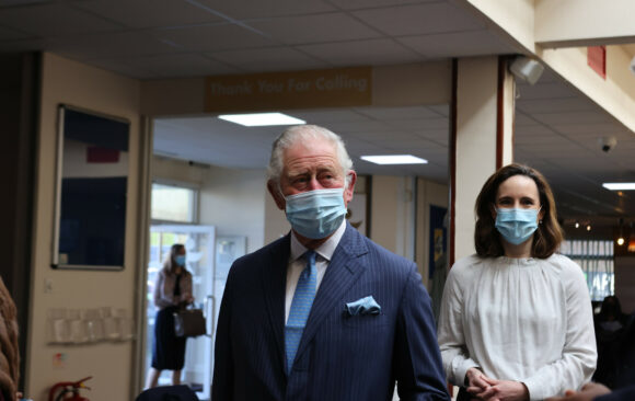 JFS Governor Greets Prince Charles